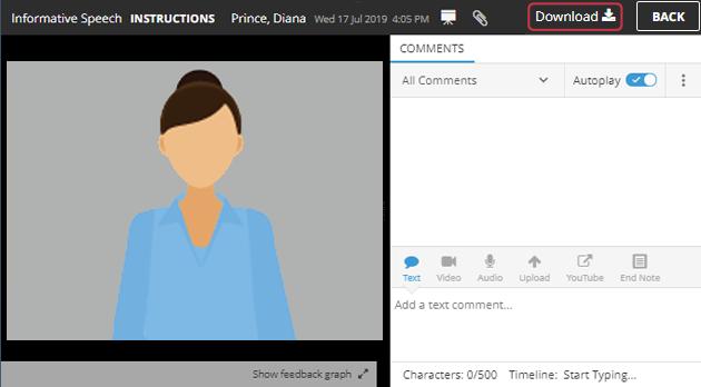 download video help